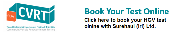 Book your HGV test online